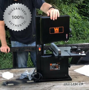 Compact Table Band Saw Bench Top Bandsaw Vertical Cutting Powerful New Wen