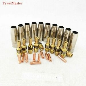 Torch Gun Consumables gas Nozzle Tips Holder For Mig Mag Welding Machine