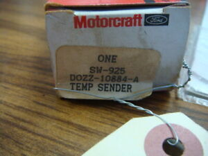 Ford Motorcraft Sw925 Engine Coolant Temperature Sender Ford Oe Dozz10884a