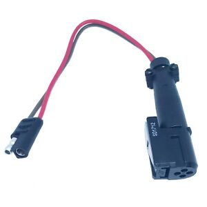 Ferrari F430 Sae Adapter For Battery Charger Die Hard Schumacher Foval Charger