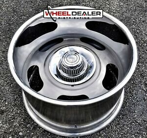 20x15 American Racing Vn327 Rally Wheel Billet Custom Pro Street C10 Camaro Etc