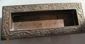 Vintage Chinese Bronze Pencil Holder With Dragon Motif