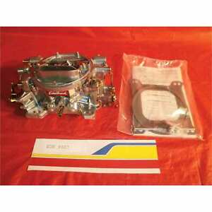 Edelbrock 9907 Reconditioned Carburetor Perf 750 Cfm Manual Satin