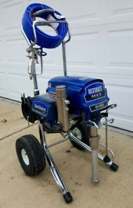 Graco Ultimate Mx Ii 695 Electric Airless Paint Sprayer 1595 1095 795