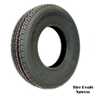 4 four New St235 80r16 Premium Trailer King St Radial Tire 10ply 2358016 Tks24