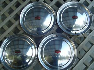 1951 1952 Chrysler Imperial 300 Hubcaps Wheel Covers Center Caps Antique Vintage