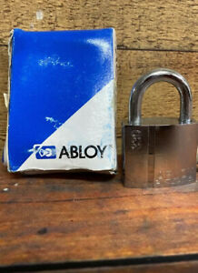 Abloy Pl330 25c Pl330 Century Finland Keyed Padlock New Old Stock One Key