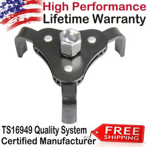 Heavy Duty Two Way Oil Filter Wrench Removal Tool Fully Adjustable 2 3 8 To 5