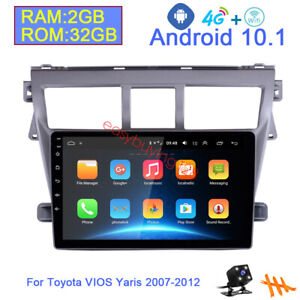 Android 10 1 2 32 4g Car Radio Gps Dvd Player For Toyota Vios Yaris Belta 08 13