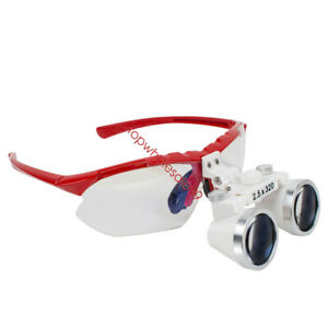 Dentist Dental Surgical Medical Binocular Loupes 2 5x 320mm Optical Glass Loupe