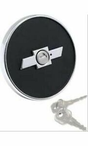 Oer K25000 Gas Cap Locking Steel Black Chevy Camaro 1967 68 Ea