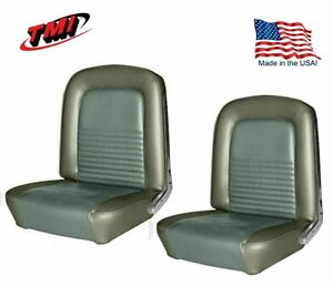 1967 Mustang Front Rear Seat Upholstery Ivy Gold By Tmi In Stock