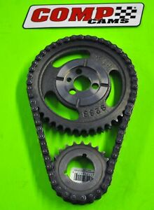 Comp Cams 2136 Sbc Chevy Double Roller Timing Chain Set 350 Factory Roller 87 92