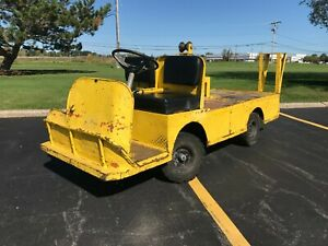 Taylor Dunn 1248b Industrial Flatbed Electric Utility Cart