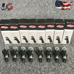 8pcs Fuel Injectors Delphi For Gm Chevy Gmc Truck 4 8l 5 3l 6 0l 99 07 25317628