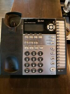 At t 1040 4 line Small Business System With Speakerphone 12 Units