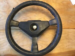 Momo Steering Wheel For Porsche Mario Andretti 1979 Hub Adapter