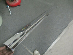 1972 73 74 75 76 Ford Ranchero Tailgate Top Trim Moulding Molding Pro Polished