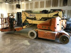 Jlg E400an Boom Lift Man Lift Basket