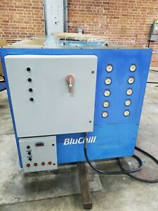 Air Cooled 20 Ton Chiller With Self Contained Tank Pump Bluchill