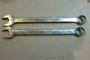Matco Tools Usa Wcl342 Wcl362 1 1 16 1 1 8 Combo Wrenches Usa