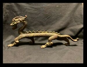 Mid Late 19th C Antique Bronze Chinese Dragon 11 From Christie S