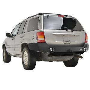 Paramount Assembled Rear Bumper Fit For 1999 2004 Jeep Grand Cherokee Wj