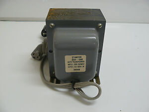 Stancor Gsd 1500 Auto Transformer Step Down 4896b New