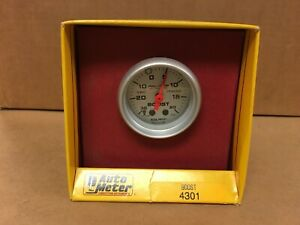 Closeout Autometer Ultra Lite 2 1 16 Turbo Boost Gauge Mechanical 20psi