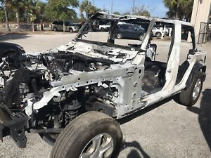 2018 Jeep Wrangler Unlimited Jl Main Frame Chassis Axles And Tub