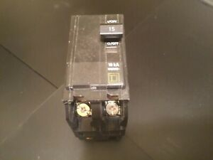 One Lot Square D Qo Plug circuit Breakers