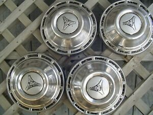 Vintage Plymouth Dodge Chrysler Police Hubcaps Wheel Covers Charger Mopar Rims