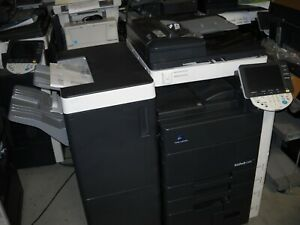 Konica Bizhub C550 Hi speed Color Copier Printer Scanner C451 C552 C550 C652