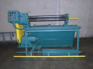 Peck Stow Wilcox Co Power Roll Forming Machine 20 Gallon 3 X 36 Model 392 e