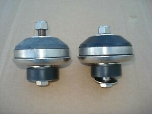 Stainless Engine Bisquits flathead Ford Motor Mounts 1932 34 36 37 39 40 Ford