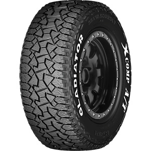Lt265 70r17 Gladiator X Comp A T 121 118s Load E 10ply Set Of 4