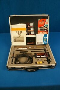 Renishaw Qc10 Machine Tool Calibration Kit With Software And Zerodur Calibrator