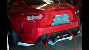 Undertray Rear Diffuser Without Fins Frp 12 20 Scion Frs Toyota 86 Subaru Brz