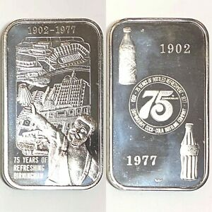 Coca Cola • Birmingham, AL • 1 oz Silver Bar • GEM BU MINT Condition! #4965