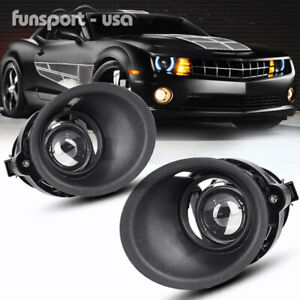 For 2014 2015 Chevy Camaro 3 6l V6 Projector Front Fog Light W Bulbs
