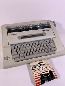 Smith Corona The Office 2000 Memory Typewriter Model Na5hh Extra Ink See Video