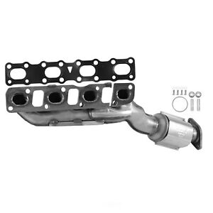 Exhaust Manifold With Integrated Fits 2004 2016 Nissan Titan Armada Nv2500 Nv350
