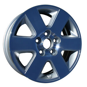 16 Alloy Wheel Rim For 2004 2010 Toyota Sienna Machined And Silver