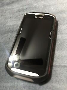 Zebra Tc510k Mobile Computer Barcode Scanner With Case Great Condition