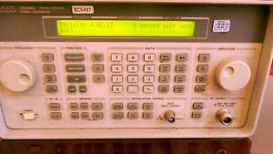 Hp 8648c Synthesized Signal Generator