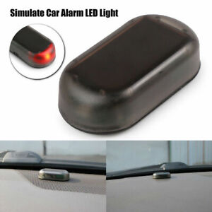 Fake Solar Car Alarm Led Light Security Warning Theft Automatic Flash Blinking