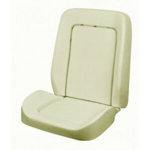 Sport Front Bucket Seat Foam 1968 69 Mustang Coupe Convertible 2 2