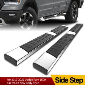 For 2019 2020 Dodge Ram 1500 Crew Cab 6 Running Board Nerf Bar Side Step S s H