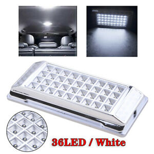 Universal 12v 36 Led Car Auto Truck Interior Dome Roof Light Ceiling White Lamp