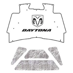 Hood Insulation Pad Cover For 2002 08 Dodge Truck Under Cover W M 020 Dodge Ram